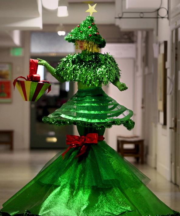 Christmas Tree Costume.Christmas Tree Costume Roadkillgirl
