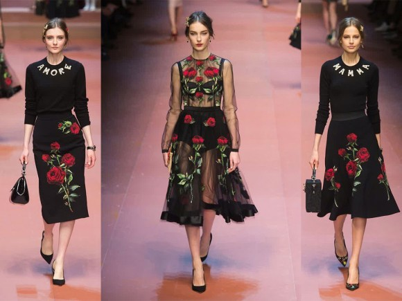 Dolce-Gabbana-Fall-2015-Runway-Black-Rose-Collection-1024x768