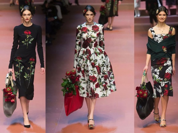 Dolce-Gabbana-Fall-2015-Runway-Rose-Collection-1024x768